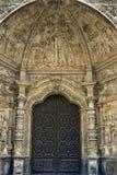 Portal Hiszpański katedralny Święty Mary w Astorga Fotografia Stock