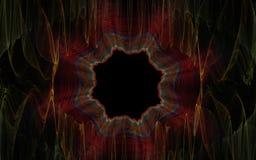 Portal i väggen Fotografering för Bildbyråer