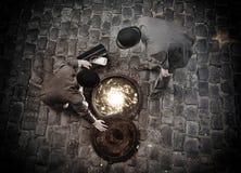 Portal inny świat Obraz Royalty Free