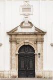 Portal kościół katolicki St. Catherine, Zagreb Zdjęcia Royalty Free