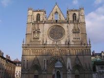 Portal medieval de la iglesia Fotografía de archivo libre de regalías