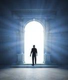Portal misterioso stock de ilustración