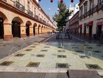 Portal November 20, portals, in the Centre of the city of Toluca, Mexico