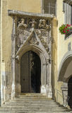 Portal of Old town hall, Regensburg, Germany Royalty Free Stock Photos
