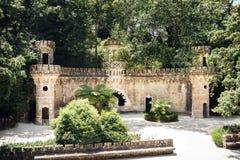 Portal opiekuny w Quinta da Regaleira w Sintra, Portugalia zdjęcia royalty free
