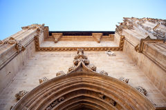 Portal of the Oviedo's Cathedral Royalty Free Stock Image
