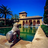 The Portal Palace, Alhambra Royalty Free Stock Images