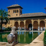 The Portal Palace, Alhambra Stock Image