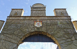 Portal at the palace Weitra Royalty Free Stock Photos