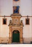 Portal of psychology school. Portal of psychology university in Oviedo Stock Photo