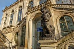 Portal rozszerzenie Drezdeński kasztel z przewiezionym muzeum Zdjęcie Stock