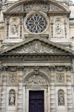 Portal of the Saint Etienne du Mont church, Paris Stock Photos