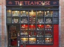 Portal of a tea-house Stock Photo