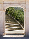 Portal at Torel Garden Royalty Free Stock Images