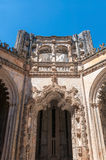 Portal of The Unfinished Chapels in Batalha Monastery. In Portugal Royalty Free Stock Photo