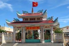 Portal of vietnamese chapel Stock Photo