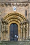 Portal von Bamberg-Kathedrale, Deutschland Stockfotografie
