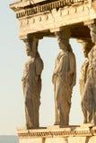 Portal von Caryatides Lizenzfreie Stockbilder