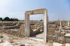 Portal w ścianie, Laodikeia, Turcja Zdjęcie Stock