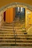 Portal y escalera Fotografía de archivo libre de regalías