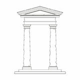 Portal z use Toskański rozkaz Obraz Royalty Free