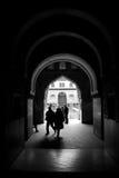Portale di Alhambra Immagini Stock