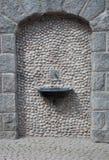 Portale e fontana Fotografia Stock Libera da Diritti