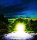 Portale a Eden Fotografia Stock Libera da Diritti
