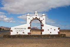 Portale a Fuerteventura Fotografia Stock