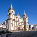 Portalegre Cathedral, or Se de Portalegre Royalty Free Stock Image