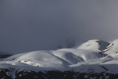 The Portalet mountains, Huesca Stock Images