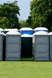 Portaloos Stock Photography
