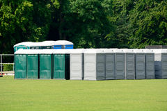 Portaloos Royalty Free Stock Image