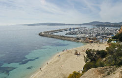 Portals beach view in the island of majorca Royalty Free Stock Photography