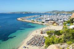 Portals Nous beach playa, Mallorca, Balearic islands, Spain Stock Photography