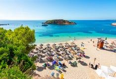 Portals Nous beach playa on Mallorca island, Spain