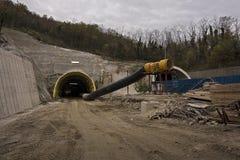 portalu tunel Zdjęcia Royalty Free