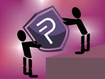 Portando Pivx a di più alto livello Fotografie Stock