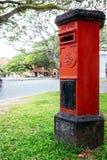 Portapillole nella città di Galle, un resto due punti del ` s dello Sri Lanka di vecchi immagini stock