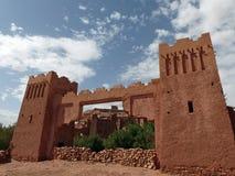 Portar av Ait Ben Haddou, Marocko Royaltyfri Fotografi