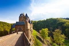 Portar av den Eltz slotten, Tyskland Mayen-Koblenz Royaltyfri Fotografi