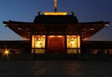 Portar av den Shitennoji templet i Osaka, Japan Arkivbild