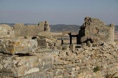 Portar av Dugga, Tunisien Royaltyfri Bild