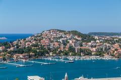 Portar i Dubrovnik i sommaren royaltyfria foton