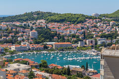 Portar i Dubrovnik i sommaren royaltyfri fotografi