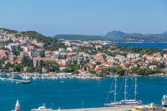 Portar i Dubrovnik i sommaren royaltyfri foto