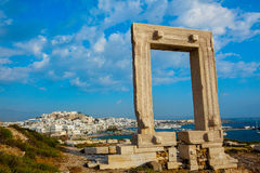 Portara Gate Stock Photo