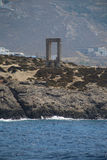 Portara Gate Naxos Stock Photography