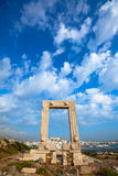 Portara Gate - Naxos, Greece Royalty Free Stock Photography