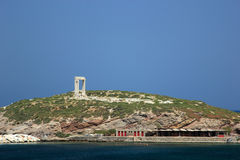 Portara gate, Naxos island Royalty Free Stock Photography
